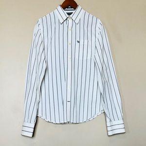 Abercrombie & Fitch Men's Muscle Dress Shirt SizeM